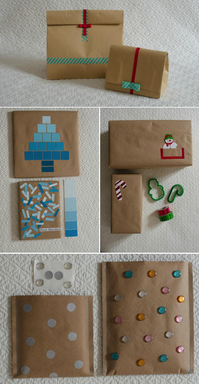 Com armas de casa 5 envolturas para regalos baratas y for Envolturas para regalos
