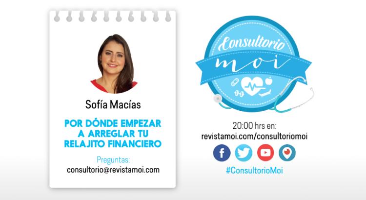 Sofía Macías en Consultorio moi