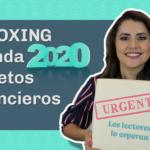Arregla tu relajito financiero| UNBOXING de la Agenda de Retos Financieros 2020